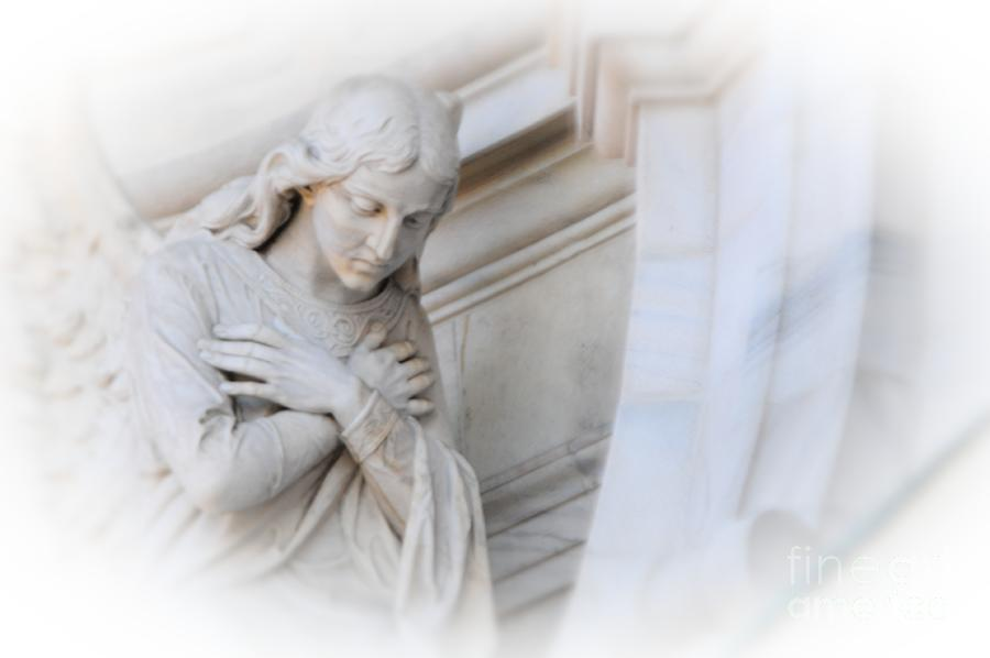 Angel Photograph - Loving Angel by Kathleen Struckle