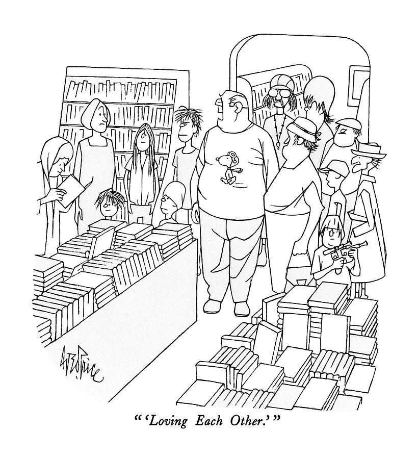 Love Each Other Cartoon: Unity Vs Hatred…