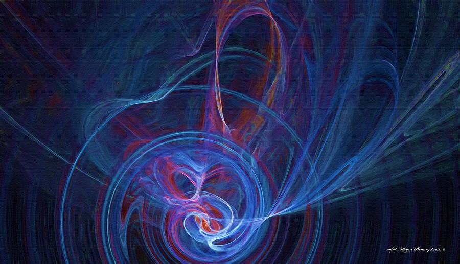 Loving The Colour Blue by Wayne Bonney