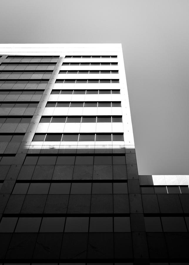 Low Angle View Of Modern Building Against Clear Sky Photograph by Jesse Coleman / EyeEm