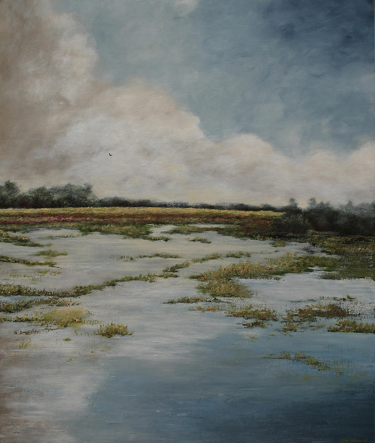 Water Painting - Low Country by Katrina Nixon