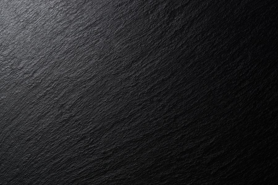 Low Lighting Black Slate Texture Photograph by MirageC