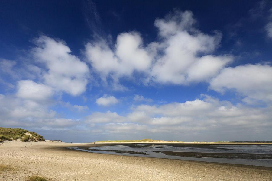 Low Tide At Slufter Nature Reserve Photograph by Duncan Usher