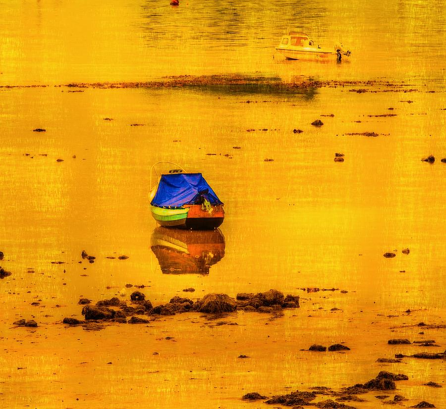 Low Tide On The Scottish West Coast Photograph