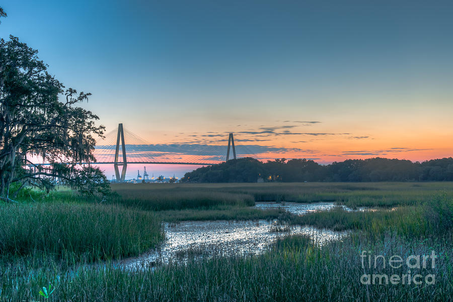 Lowcountry Bridge View Photograph