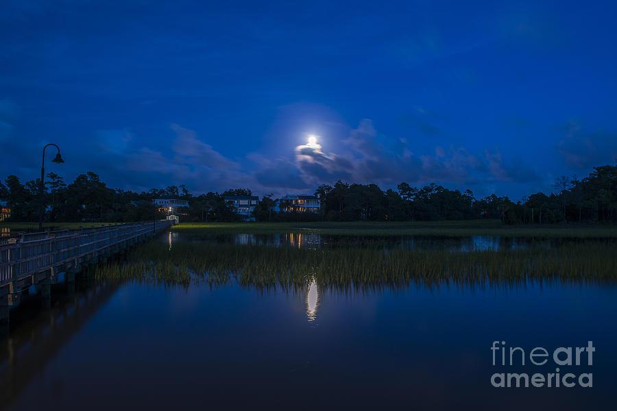 Lowcountry Moon Photograph