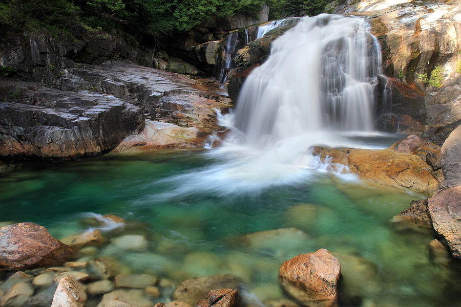 lower falls in golden ears park photograph by pierre. Black Bedroom Furniture Sets. Home Design Ideas
