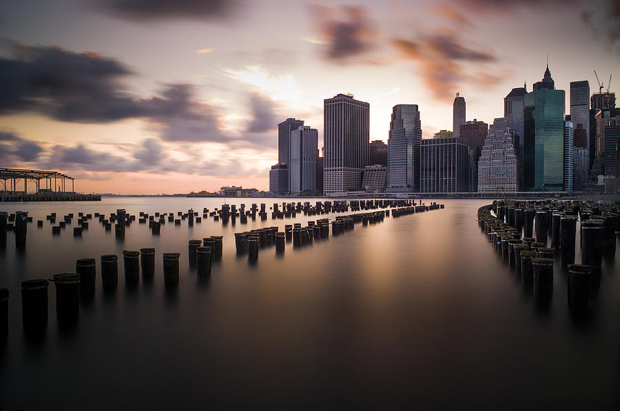 Lower Manhattan Photograph - Lower Manhattan From Brooklyn by Chris Halford