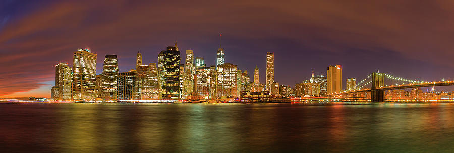 Lower Manhattan Photograph by Joshua Bozarth