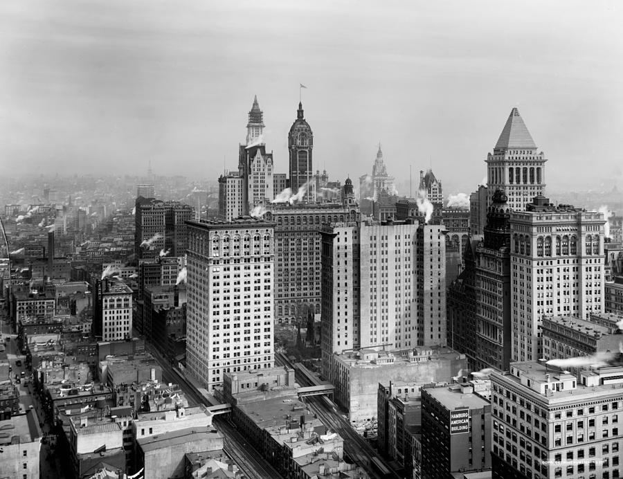 Lower Manhattan New York City 1910 Photograph By Mountain