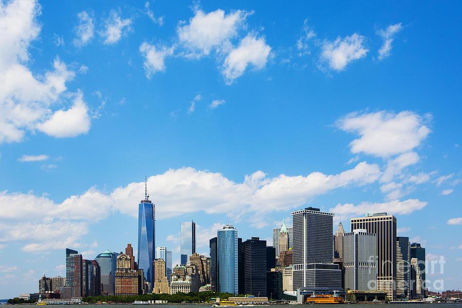 New York City Photograph - Lower Manhattan New York City by Diane Diederich