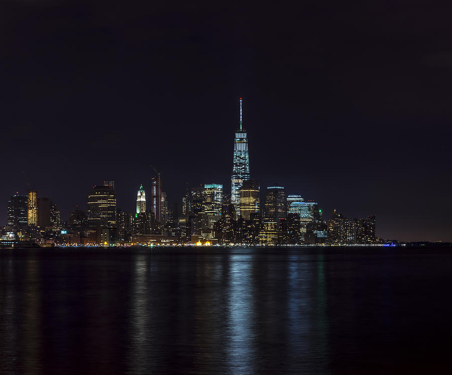 Lower Manhattan Skyline Photograph