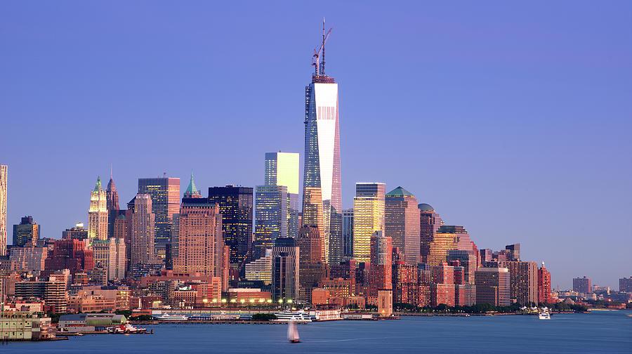 Lower Manhattan Skyline Photograph by Tony Shi Photography