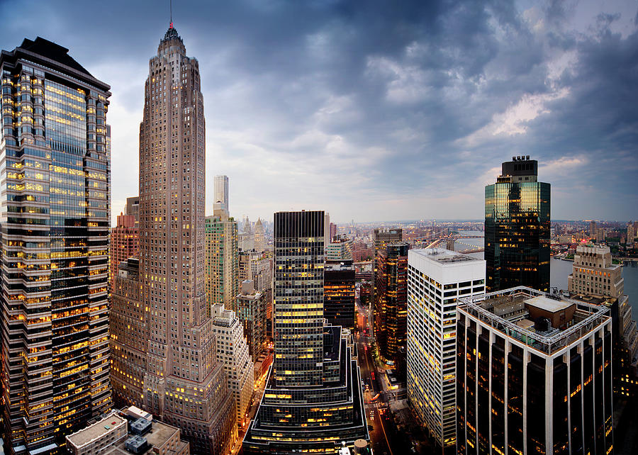 Lower Manhattan Photograph by Tony Shi Photography