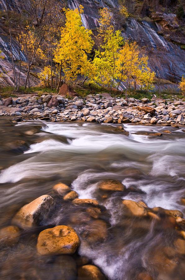 November Photograph - Lower Narrows by Bjorn Burton