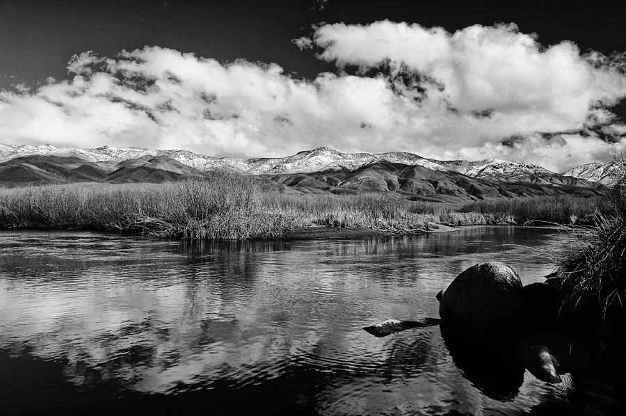 River Photograph - Lower Owens River by Cat Connor
