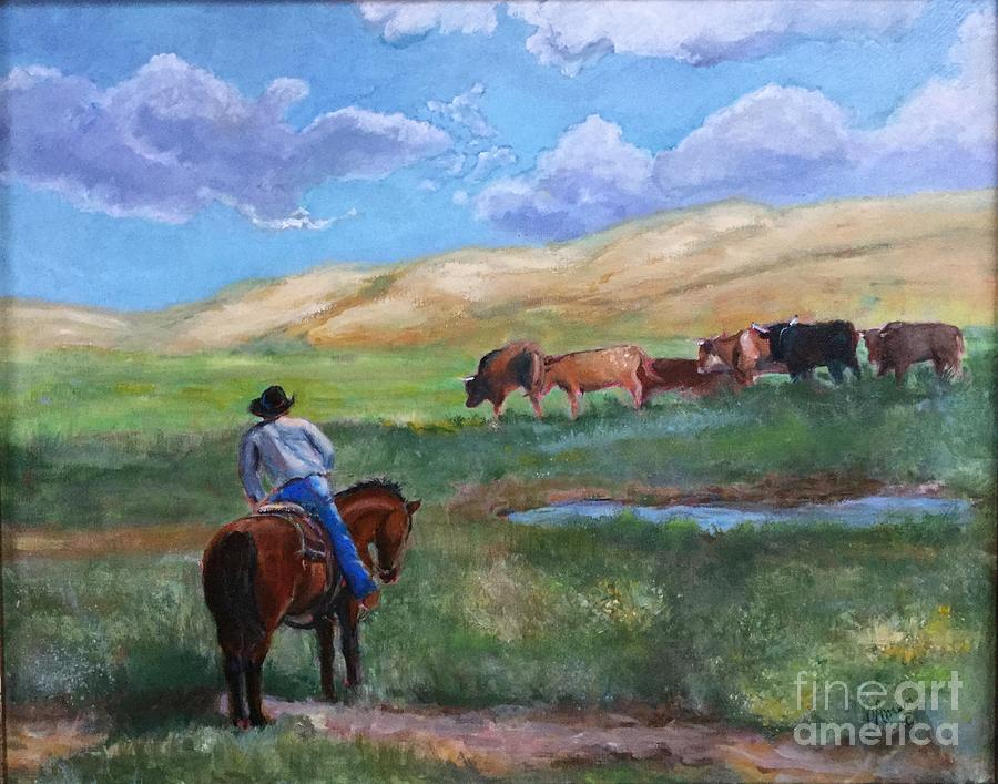 Lower Pastures by Patricia Amen