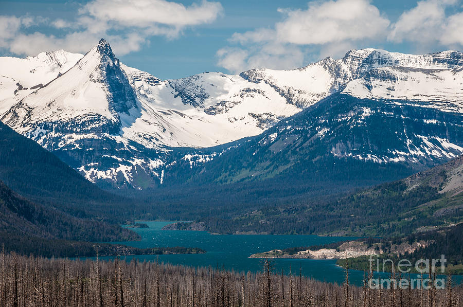 Lower Saint Marys Lake Photograph