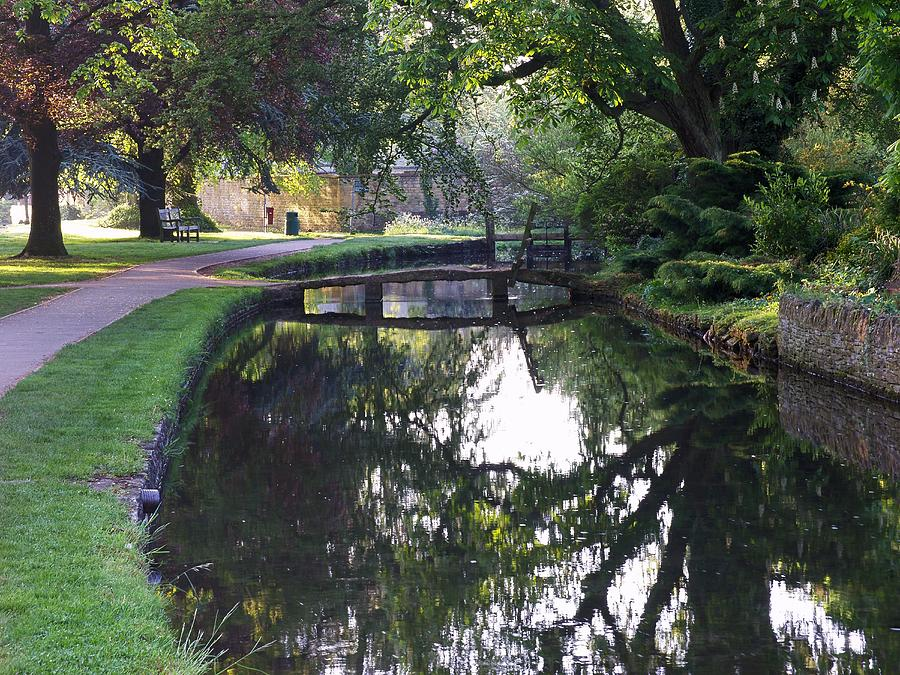River Photograph - Lower Slaughter 2 by Ron Harpham