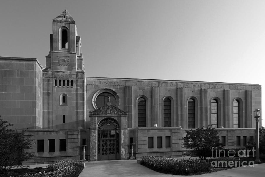 Catholic University Photograph - Loyola University Cudahy Library by University Icons