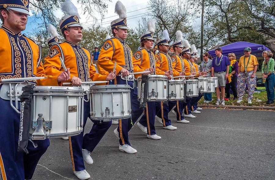 Nola Photograph - Lsu Tigers Band 4 by Steve Harrington