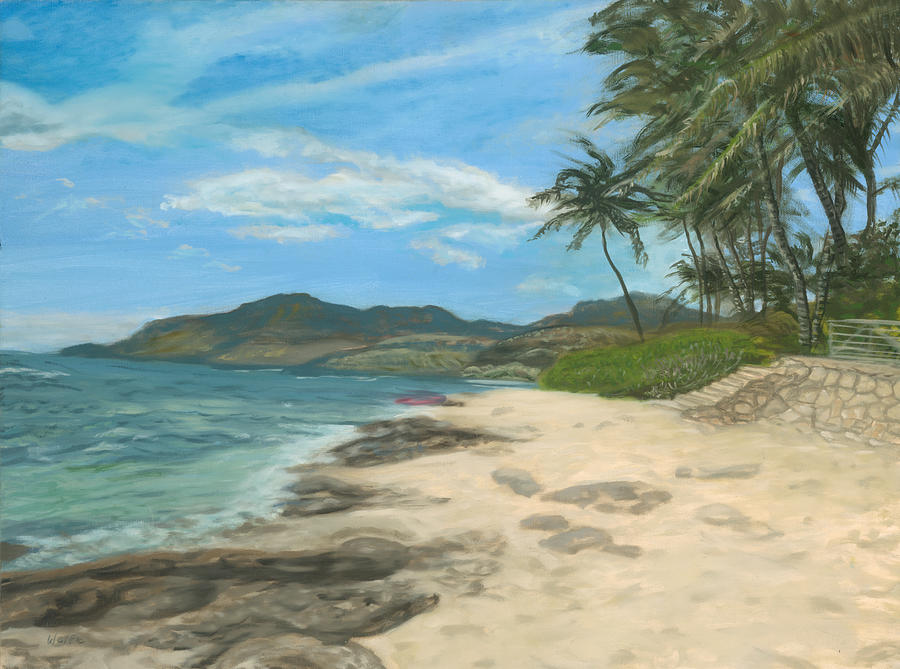 Lualualei Beach by Michael Allen Wolfe