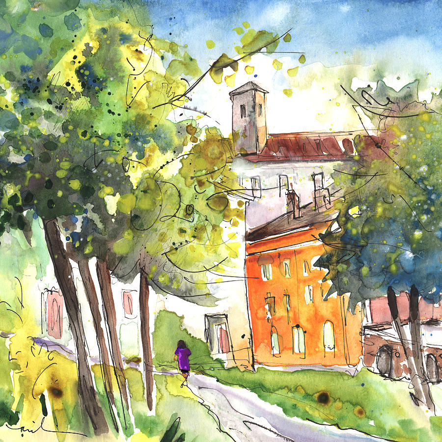 Italy Painting - Lucca In Italy 02 by Miki De Goodaboom