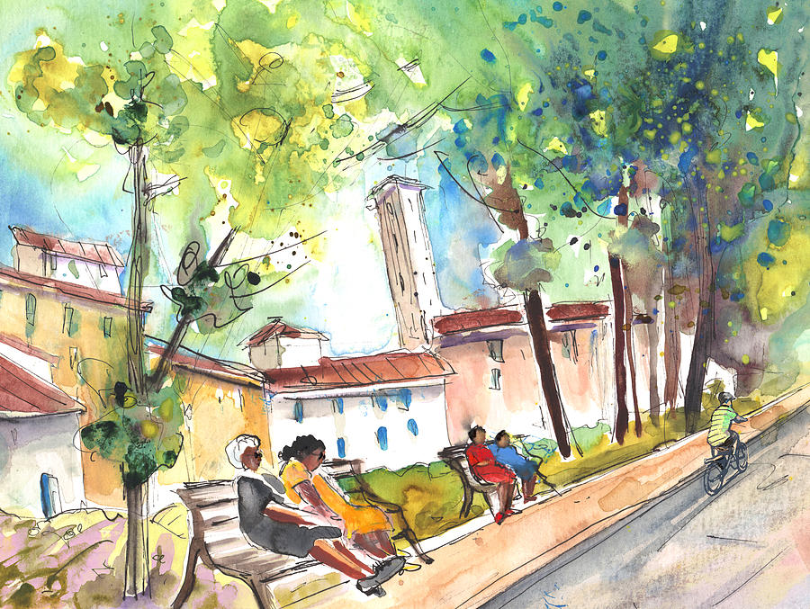 Italy Painting - Lucca In Italy 03 by Miki De Goodaboom