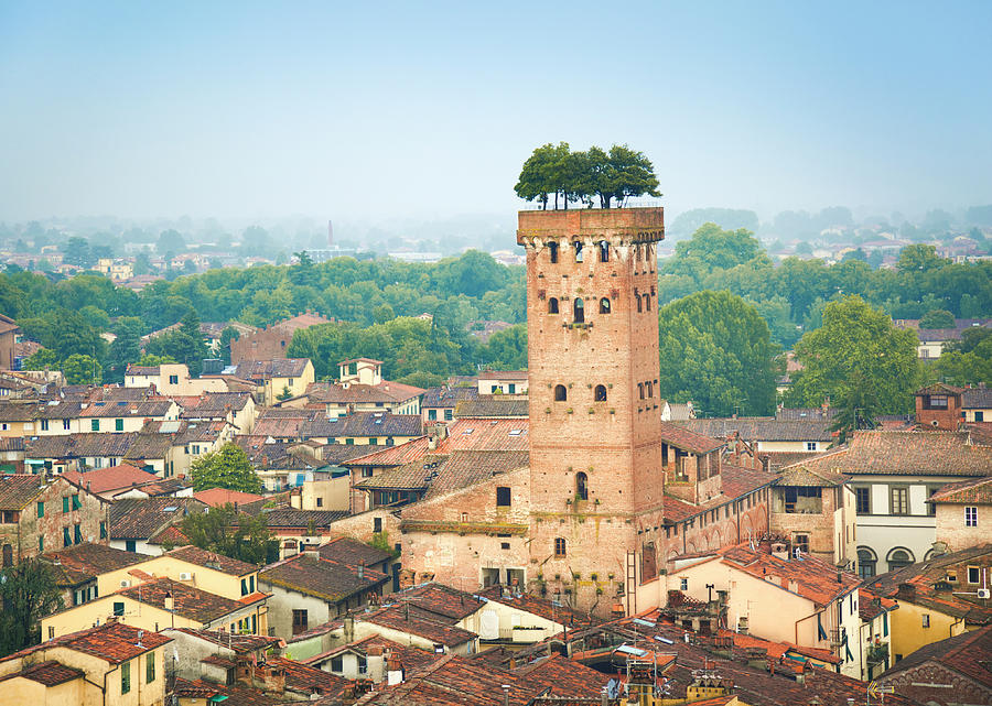 Lucca, Italy Photograph by Spooh