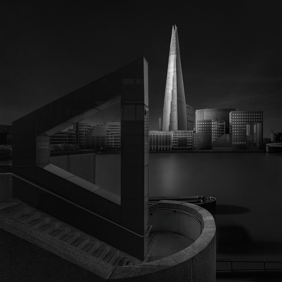 Architecture Photograph - Lucid Dream I - The Shard by Oscar Lopez