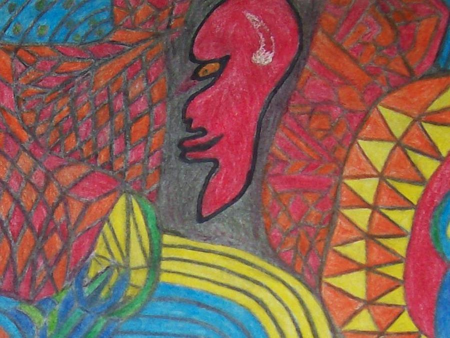 Timeline Drawing - Lucifer by Jonathon Hansen