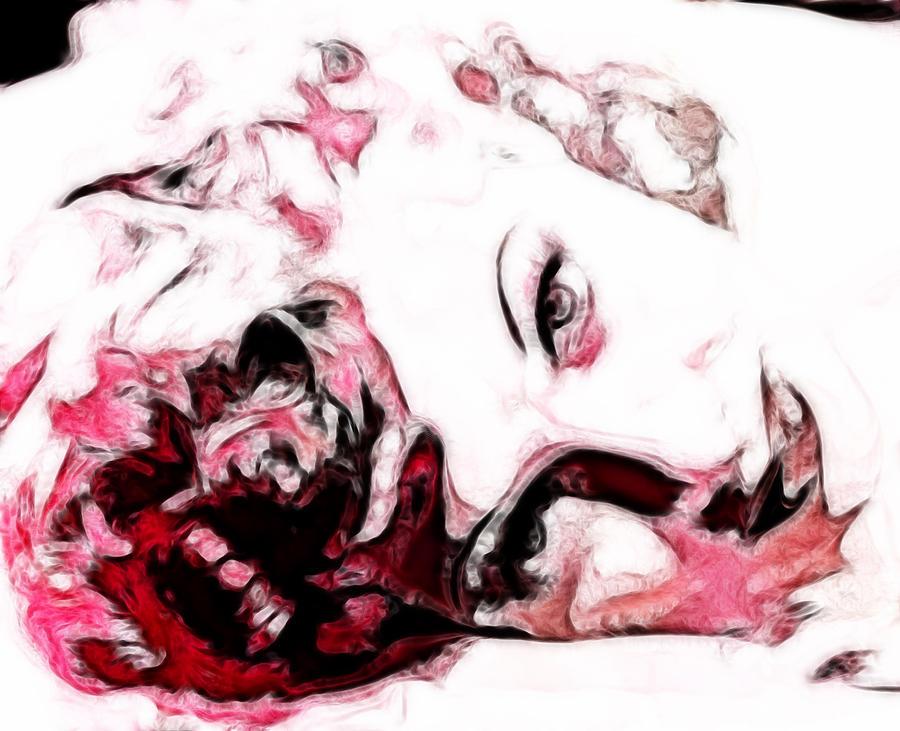 Lucille Ball Digital Art - Lucille Ball by D Walton