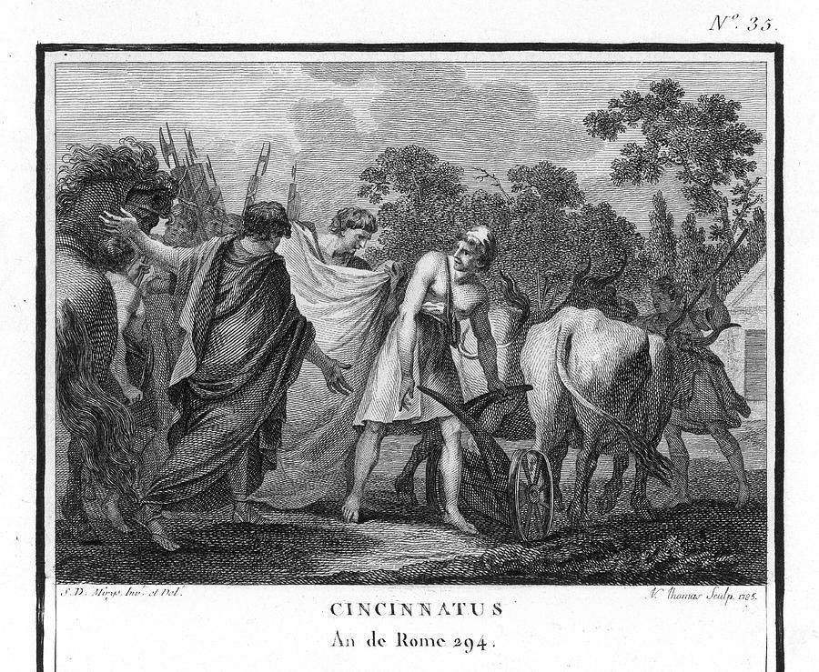 Cincinnatus Drawing