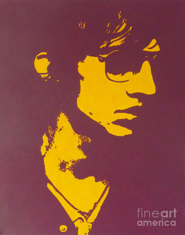 The Verve Painting - Lucky Man by ID Goodall