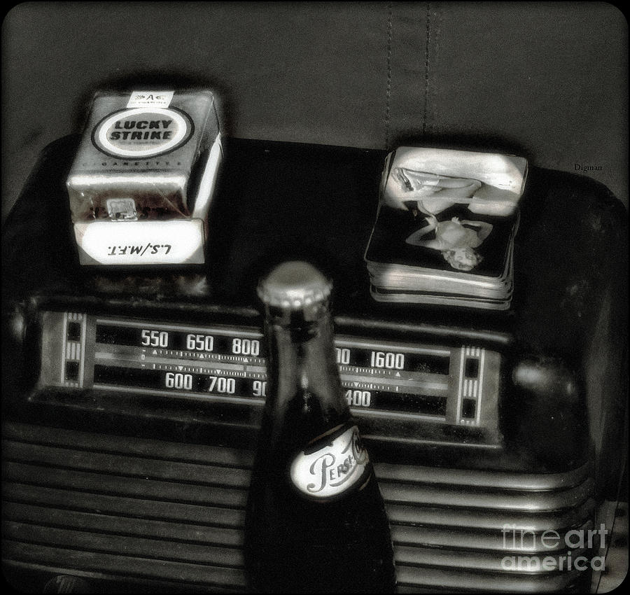 Cigarettes Photograph - Lucky Strike  by Steven Digman