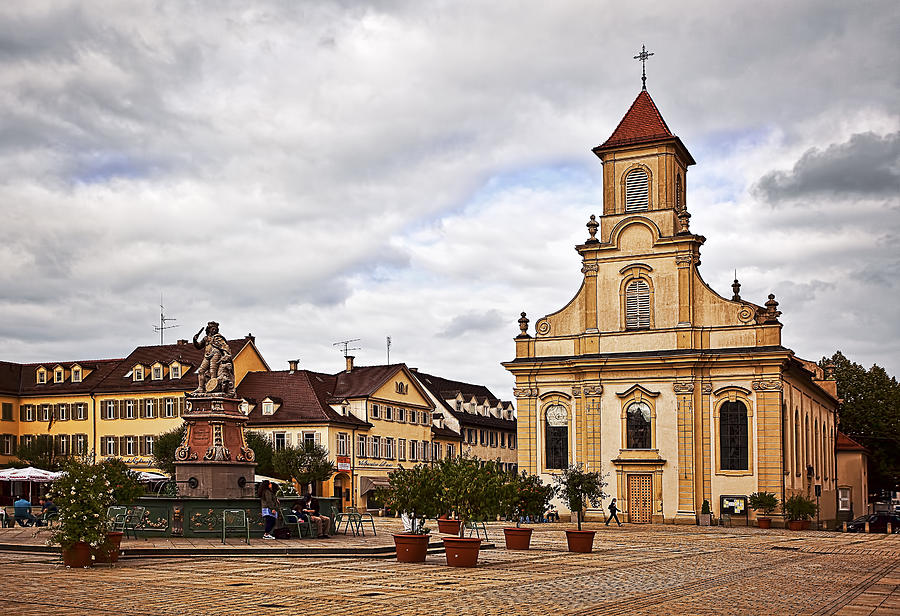 Ludwigsburg Dreieinigkeitskirche Photograph by Marcia Colelli