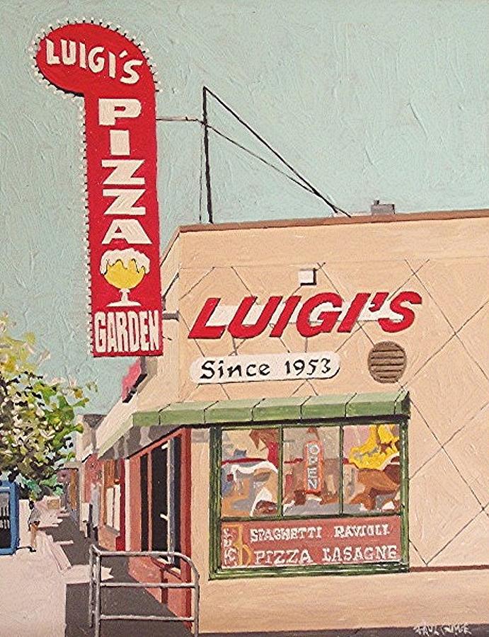 Sacramento Painting - Luigis by Paul Guyer