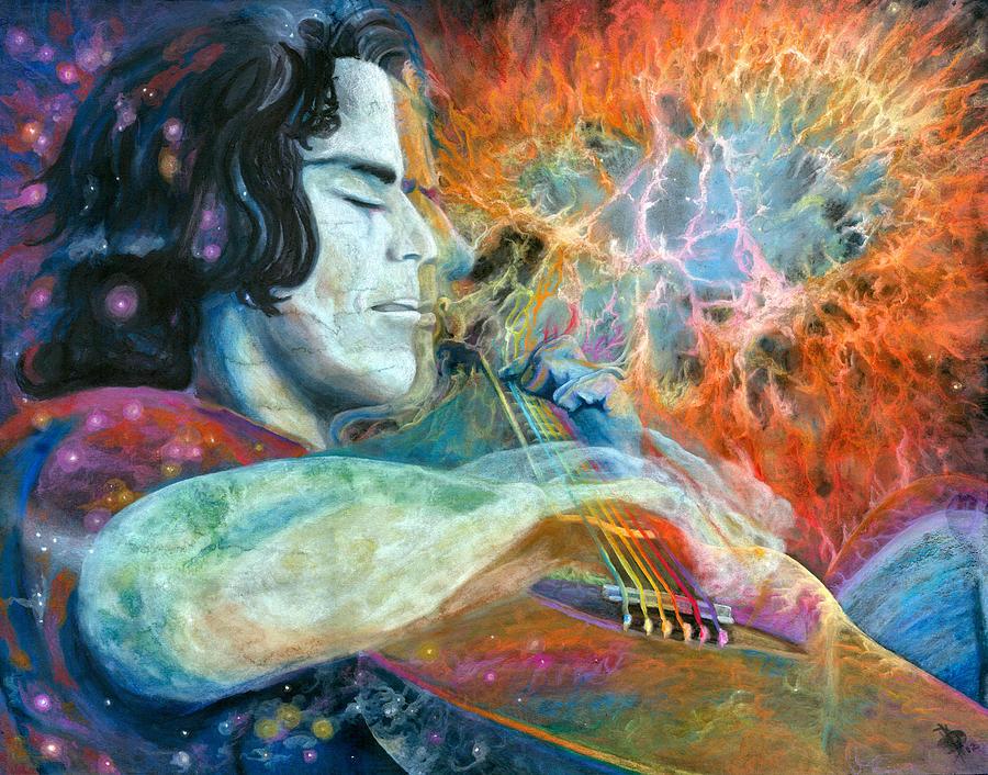 Dreams Painting - Lullabies For Nebulas by Kd Neeley