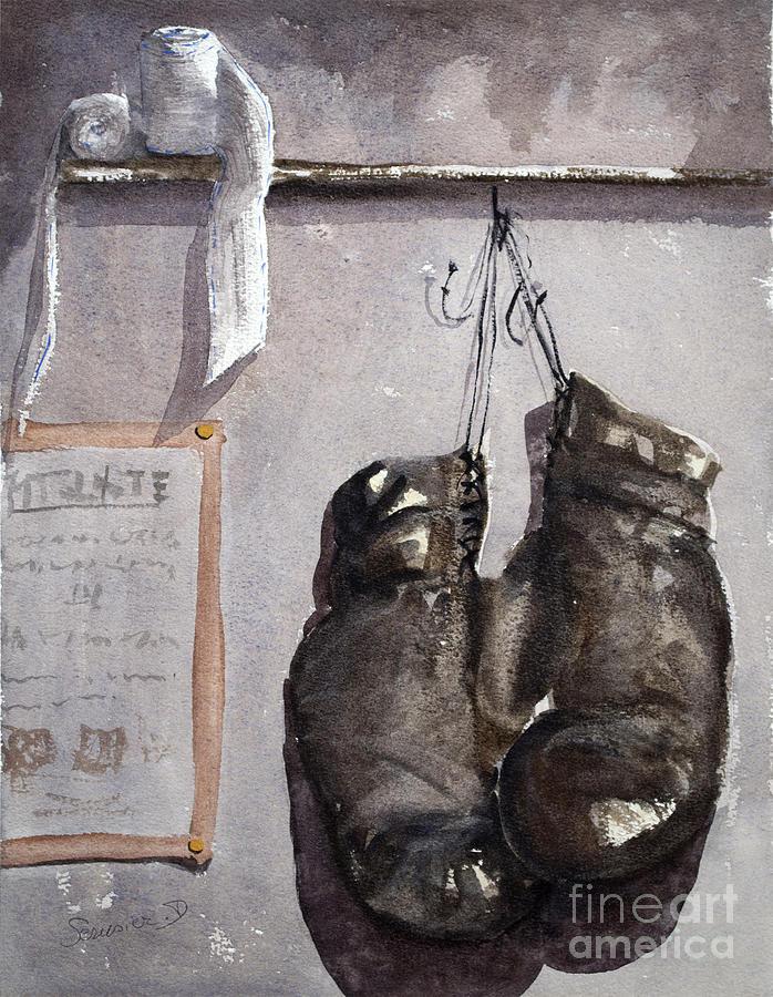 Combat Painting - lultime combat Ultimate Combat by Dominique Serusier