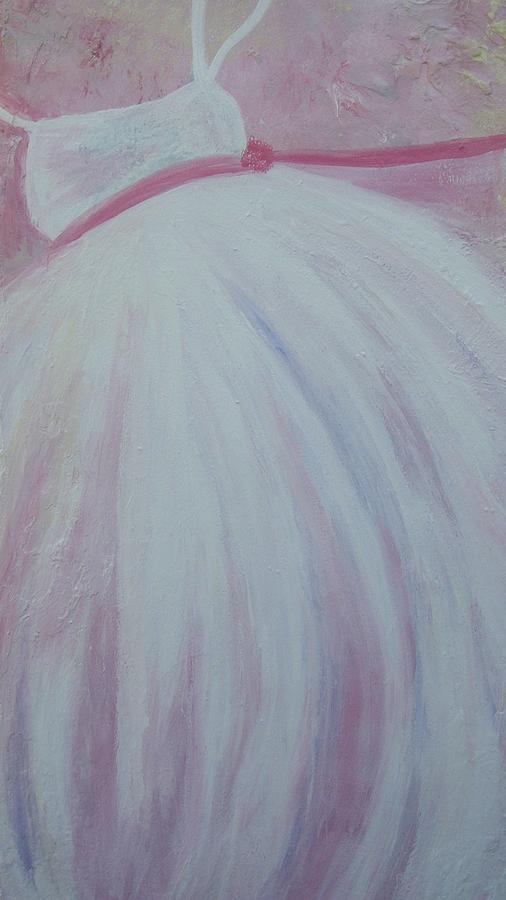 Ballet Painting - Lulus Tutu  by Tree Girly