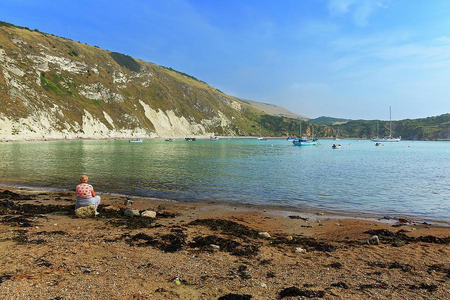 Lulworth Cove, Dorset Photograph by Louise Heusinkveld