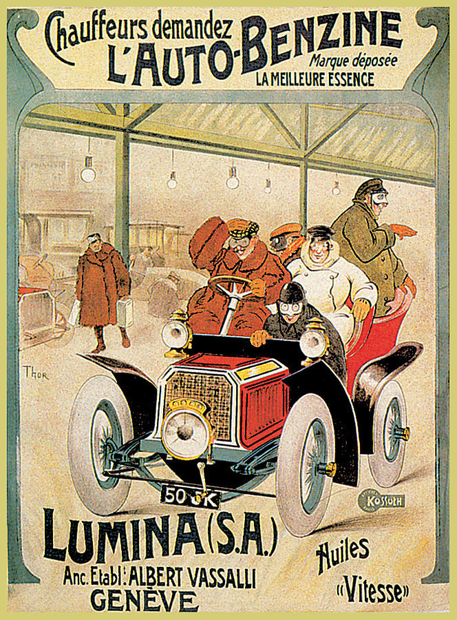 Lumina Geneve Photograph by Vintage Automobile Ads and Posters