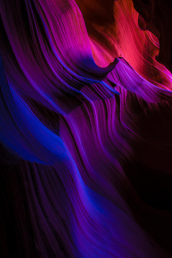 Antelope Canyon Photograph - Luminary Peace by Chad Dutson