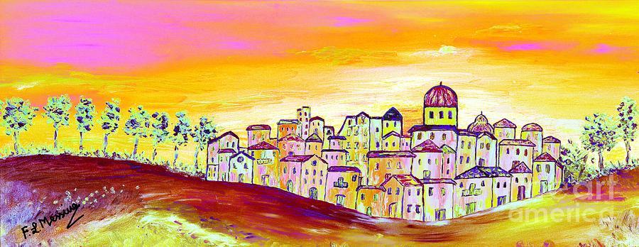 Mixed Media Painting - Luminescence by Loredana Messina