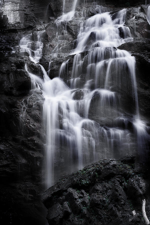 Waterfall Photograph - Luminous Waters by Janie Johnson