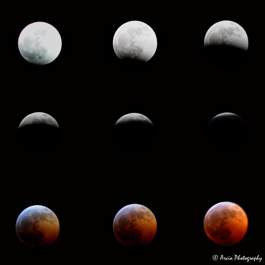 Lunar Eclipse by Ken Arcia