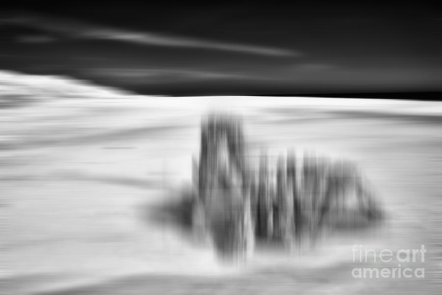 Outer Banks Photograph - Lunar Landing - A Tranquil Moments Landscape by Dan Carmichael