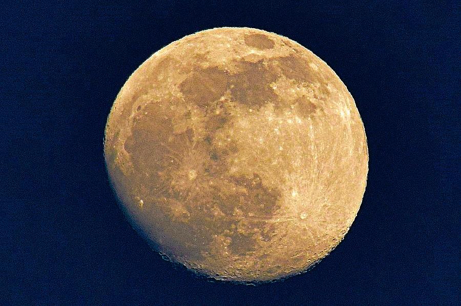 Lunar Landscape Photograph
