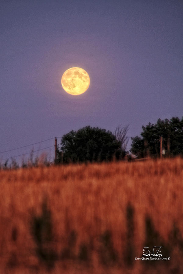 Moonrise Photograph - Lunar Light Lifting by Dan Quam