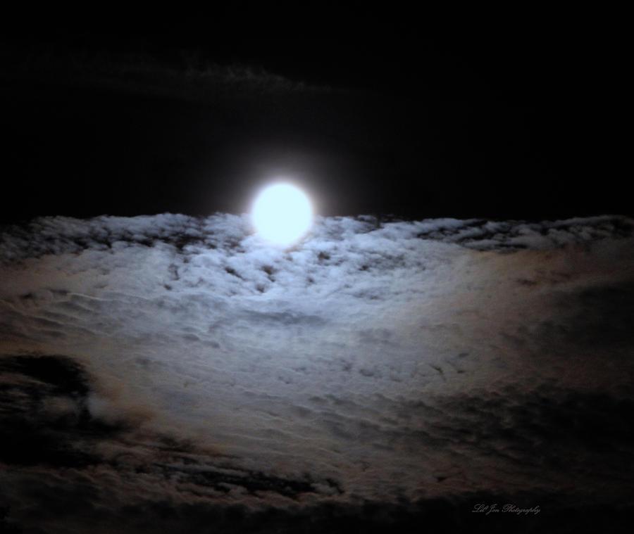 Moon Photograph - Lunar Ocean by Jeanette C Landstrom